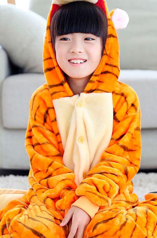 Детская пижама кигуруми Тигра купить в Москве цена 1 989 р ... 9e5015d1fe8b3