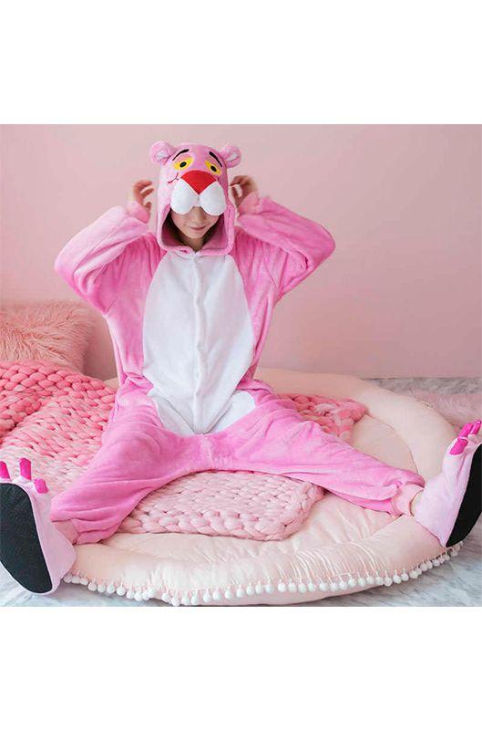 5a55382a86e0 Детская пижама кигуруми Розовая Пантера купить в Москве цена 1 592 р ...