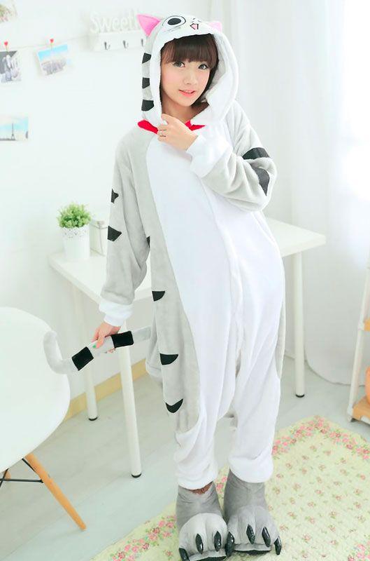 Детская пижама кигуруми Кошечка Чии купить в Москве цена 1 989 р ... 16193139fd9be
