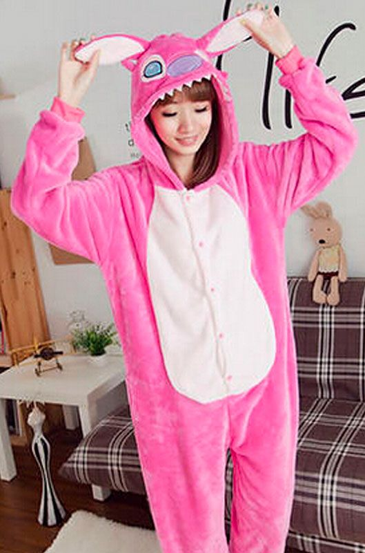 Детская пижама кигуруми Лиловый Стич купить в Москве цена 1 989 р ... 180032373c936
