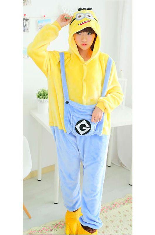 Детская пижама кигуруми Миньон купить в Москве цена 1 900 р ... 2dbb0035298a5
