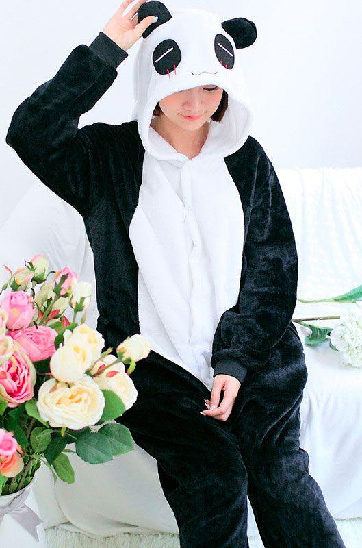 Детская пижама кигуруми Панда купить в Москве цена 1 989 р ... 7dd5bfbbe830b