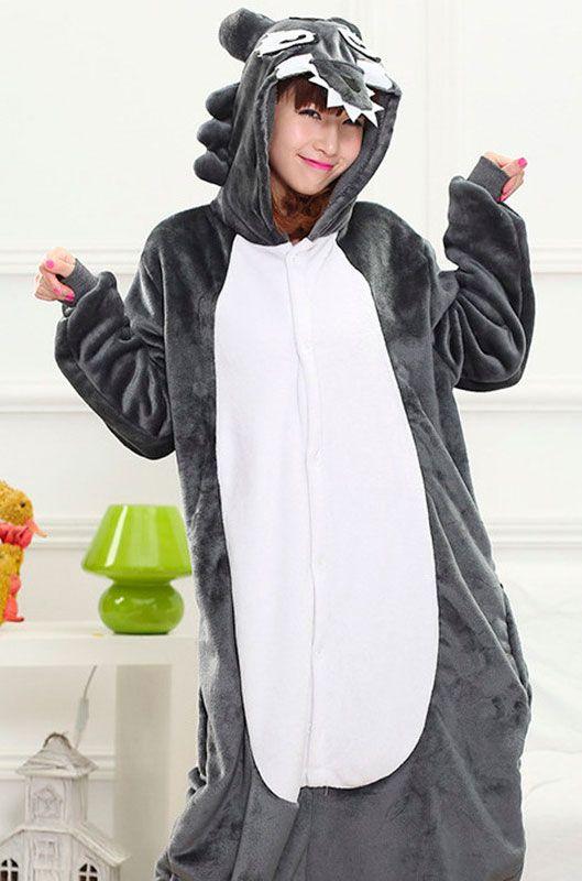 Детская пижама кигуруми Волк купить в Москве цена 1 900 р - интернет ... 87f969caf37f2