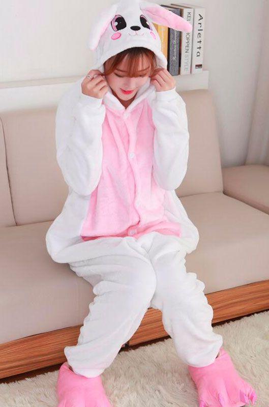 Детская пижама кигуруми Розовый Заяц купить в Москве цена 1 926 р ... 7c7a714fe765d