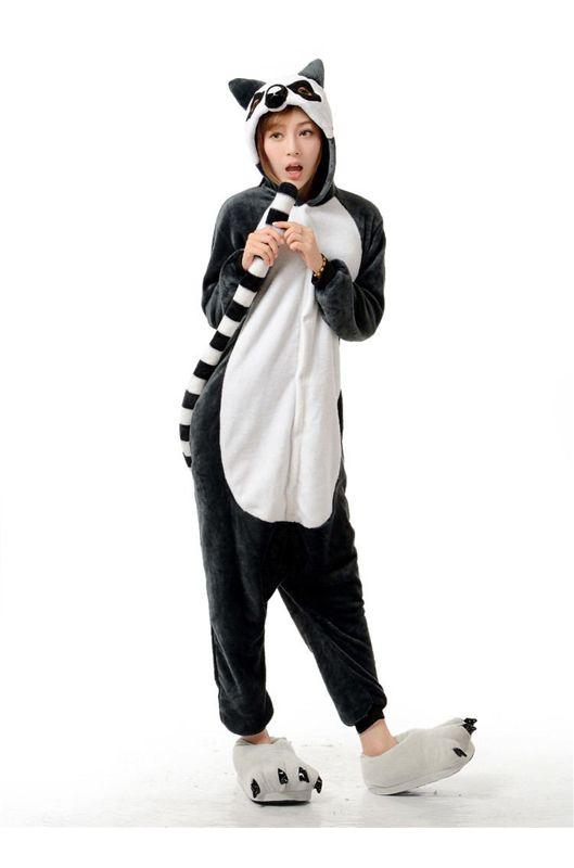 Детская пижама кигуруми Лемур купить в Москве цена 1 900 р ... c20381826914d