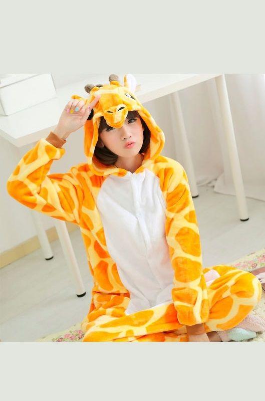 Детская пижама кигуруми Жираф купить в Москве цена 1 989 р ... 6791b83fdabd8