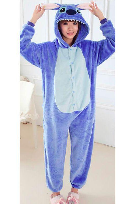 Детская пижама кигуруми Синий Стич купить в Москве цена 1 989 р ... b6f1fda62474b