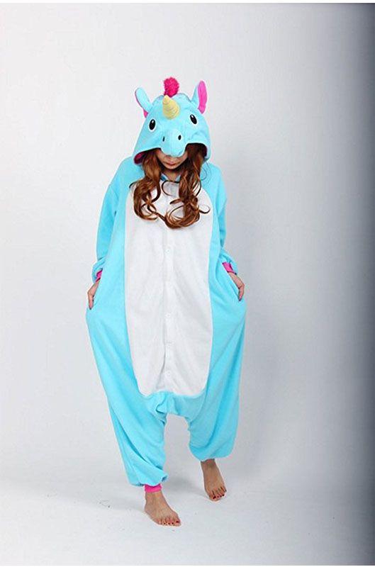 Детская пижама кигуруми Радужный голубой единорог купить в Москве ... e67eaaa721f05
