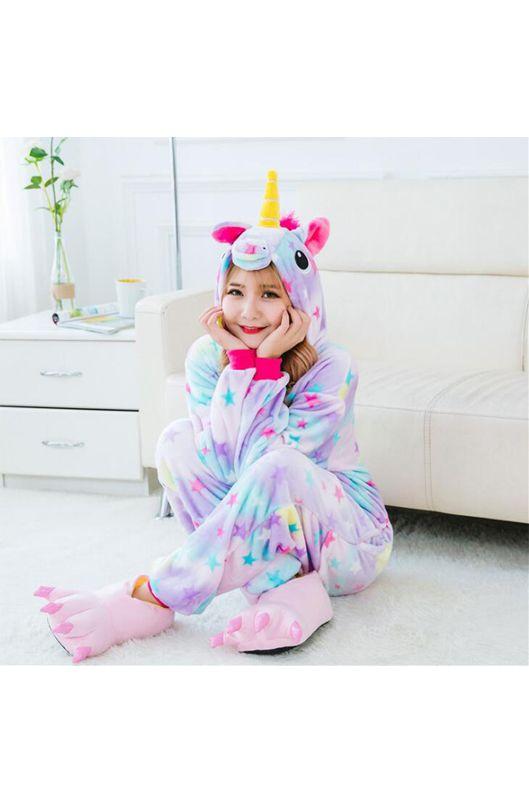 Детская пижама кигуруми Звездный Единорог купить в Москве ... 75659d3cc544b