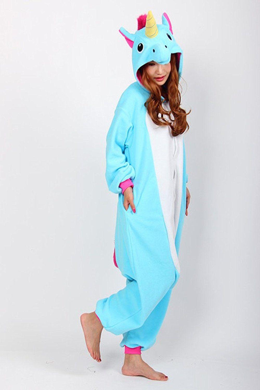 Детская пижама кигуруми Радужный голубой единорог купить в Москве ... 8e57159a94bd2
