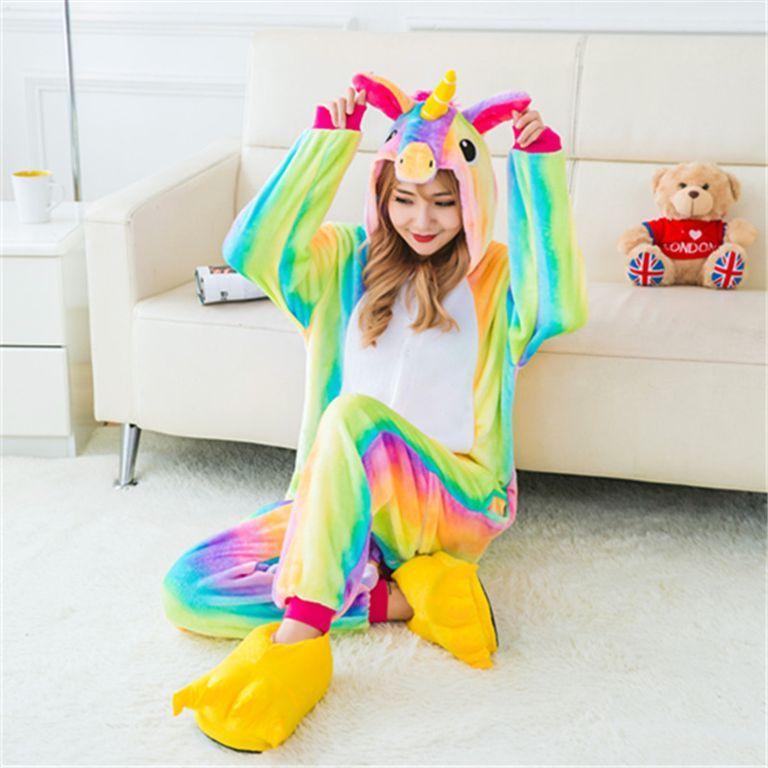 Детская пижама кигуруми Радужный единорог купить в Москве цена 2 394 ... 062480e38b251