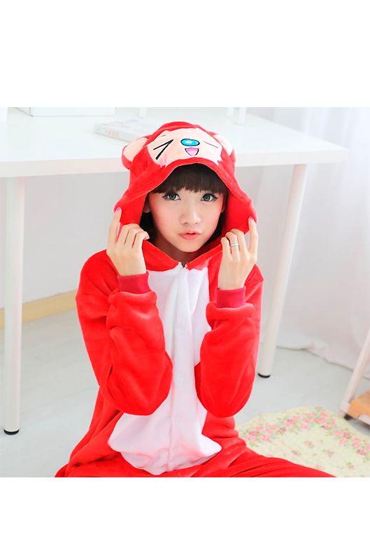 Детская пижама кигуруми Красная Лиса купить в Москве цена 1 900 р ... 02ed60ad0af64